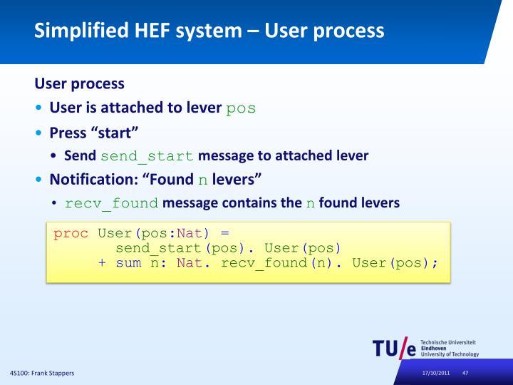 Simplified HEF