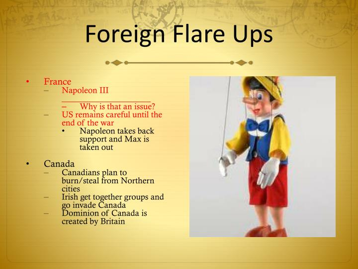 Foreign Flare Ups