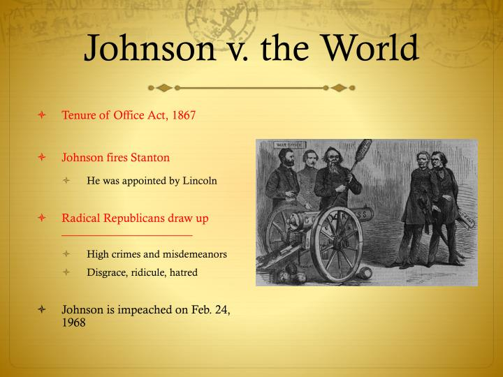 Johnson v. the World