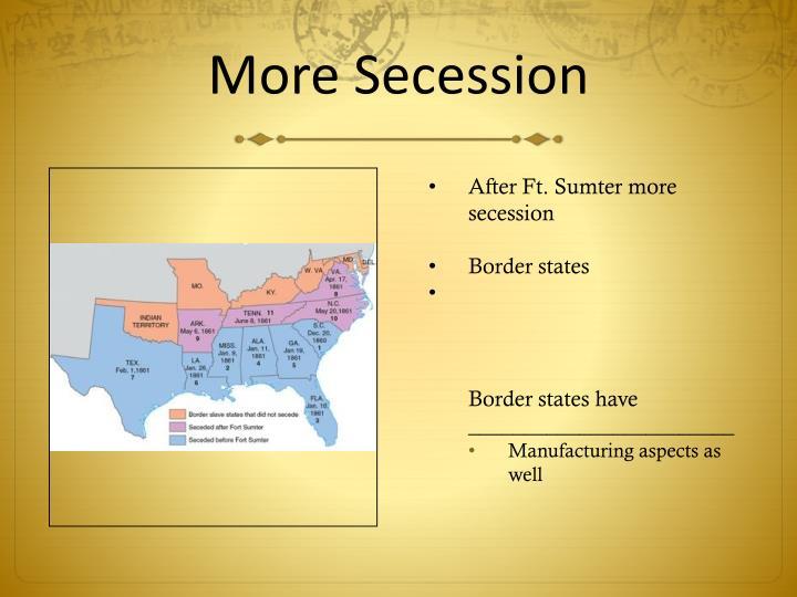 More Secession