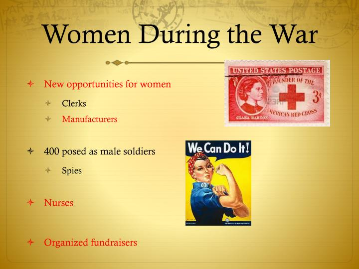 Women During the War