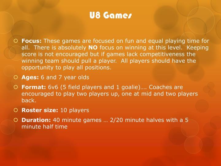 U8 Games