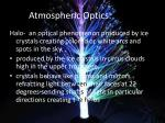 atmospheric optics halos