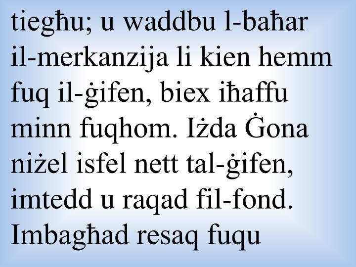 tiegħu;