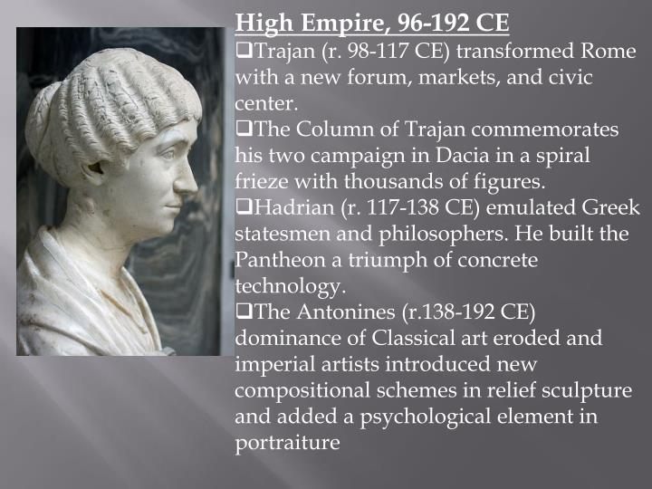 High Empire, 96-192 CE
