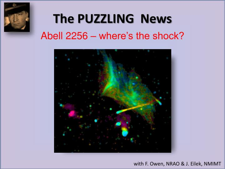 The PUZZLING  News