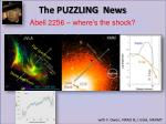abell 2256 where s the shock1