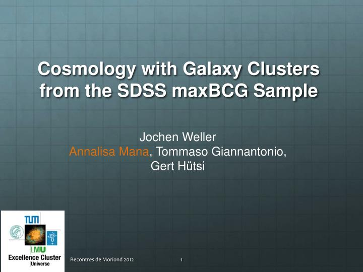 Cosmology with galaxy clusters from the sdss maxbcg sample