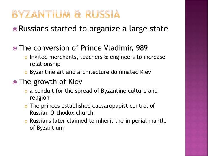 Byzantium & Russia