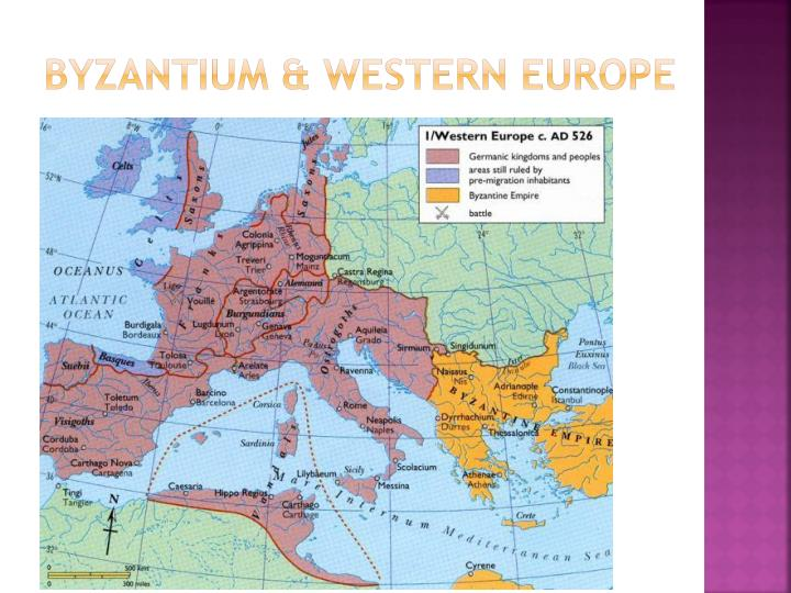 Byzantium & Western Europe