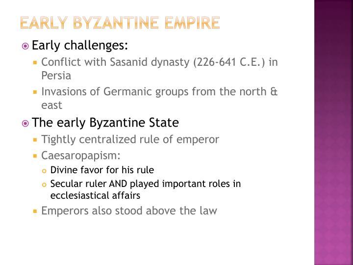 Early Byzantine Empire