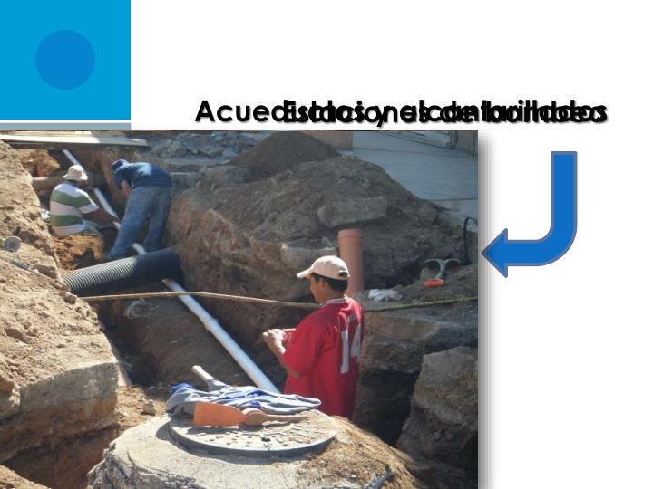 Acueductos y alcantarillados
