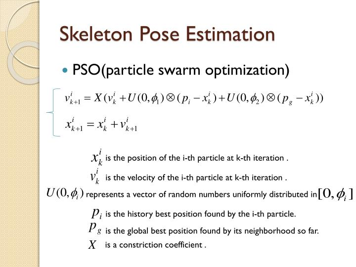 Skeleton Pose Estimation