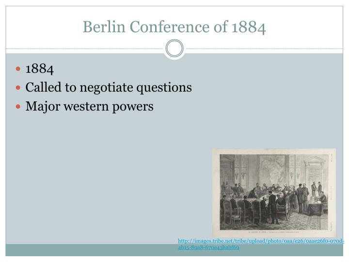 Berlin Conference of 1884
