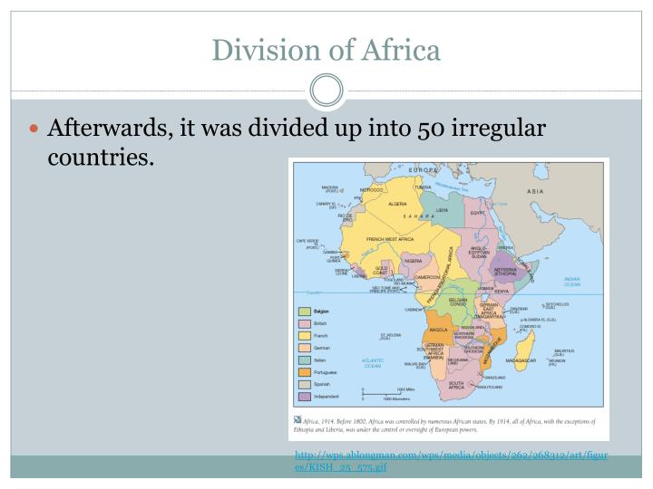 Division of Africa