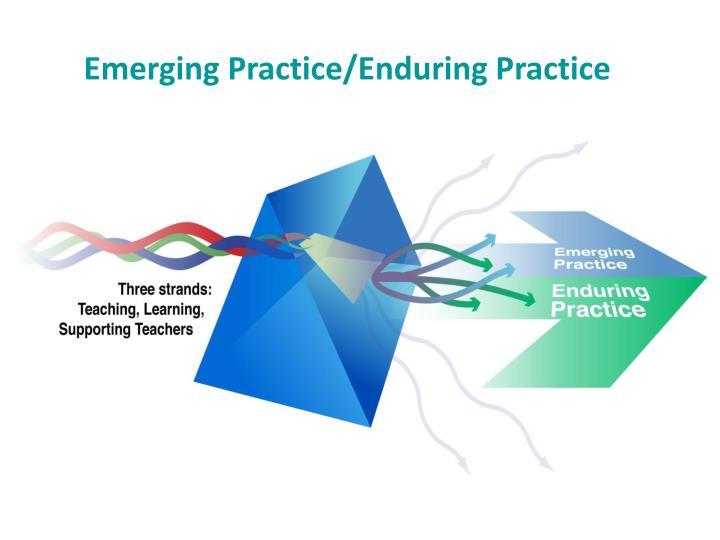 Emerging Practice/Enduring Practice