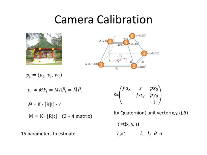 Camera Calibration