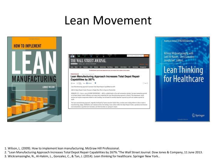 Lean Movement