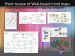 short review of web based mind maps