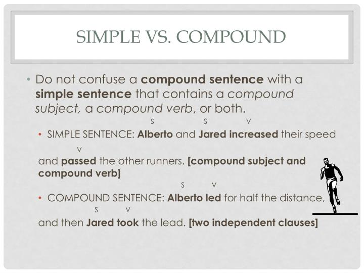 Simple vs. Compound
