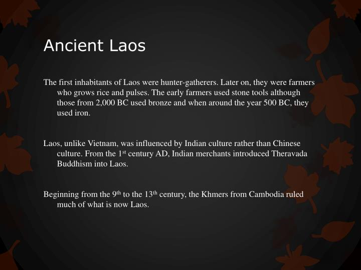 Ancient Laos