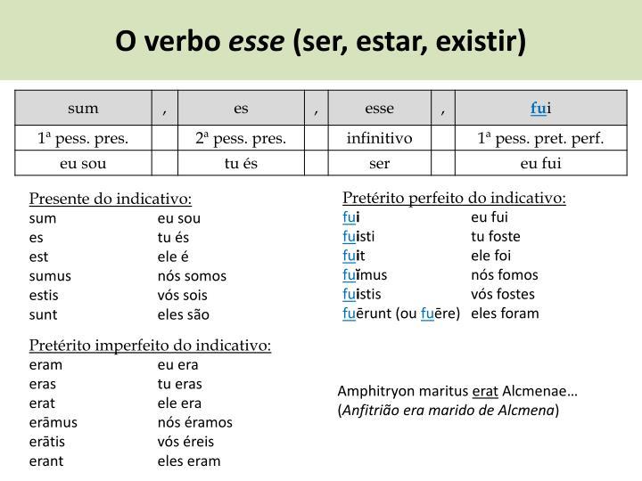 O verbo