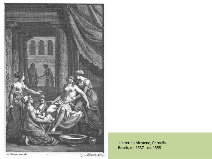 Jupiter en Alcmene,