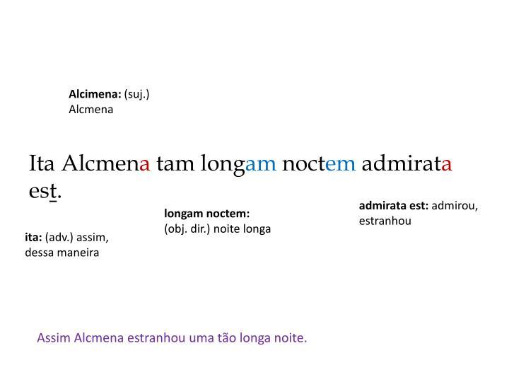 Alcimena