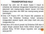 transportasi haji