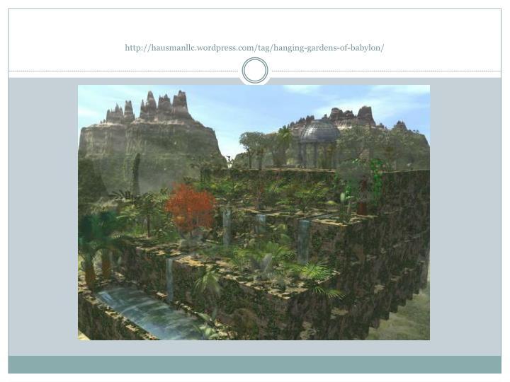 http://hausmanllc.wordpress.com/tag/hanging-gardens-of-babylon
