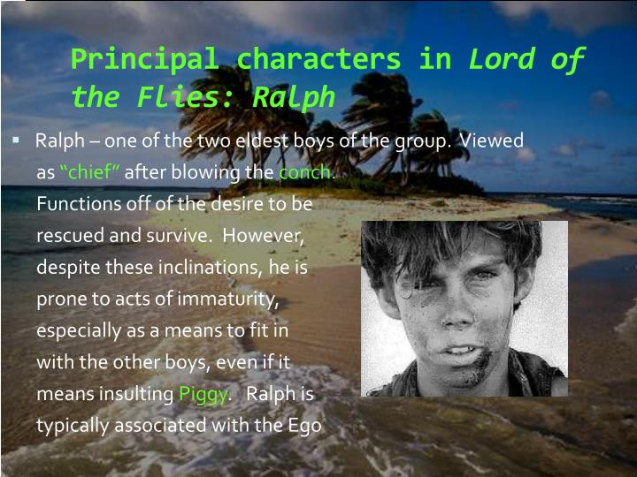 character report lord of the flies This essay character study of piggy from lord of the flies and other 64,000+ term papers,  report this essay  lord of the flies - character analysis of ralph.