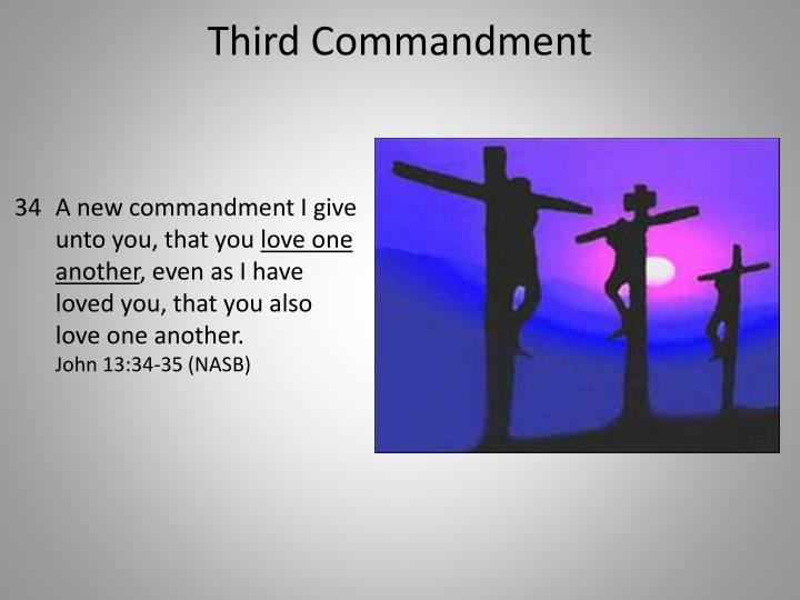 Third Commandment