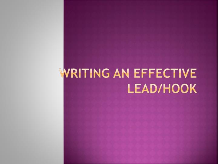 effective essay writing ppt Tips for writing effective introductions try writing your introduction last often.