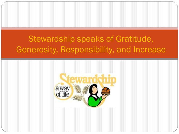 PPT - Vision, Mission and Money PowerPoint Presentation ... |Stewardship Powerpoint