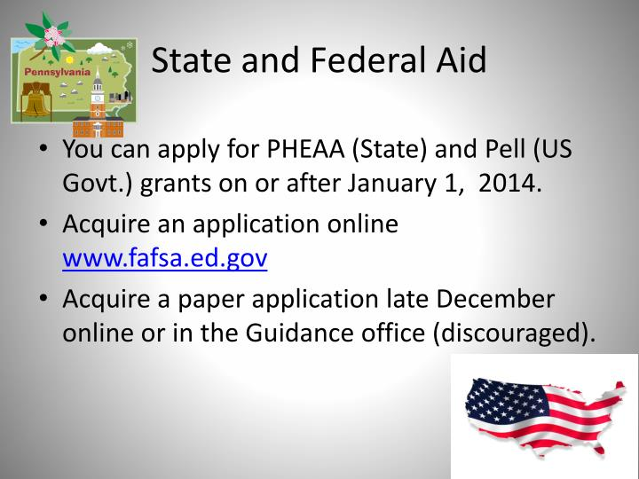 State and Federal Aid