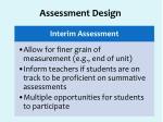 assessment design1