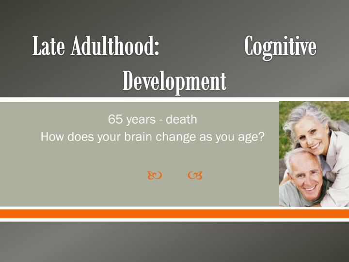 emotional development in old age Examines the progression of emotional development in children ages 3-5, including the expression of extreme emotions.
