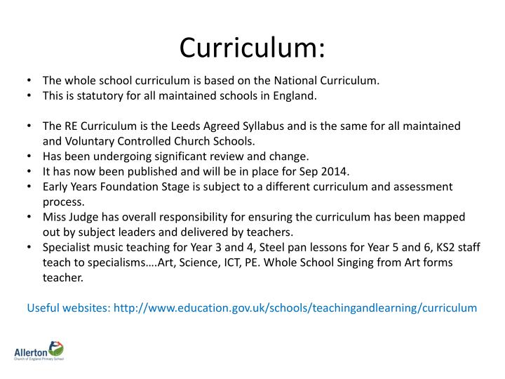 Curriculum: