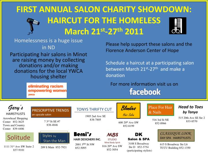 Please help support these salons and the