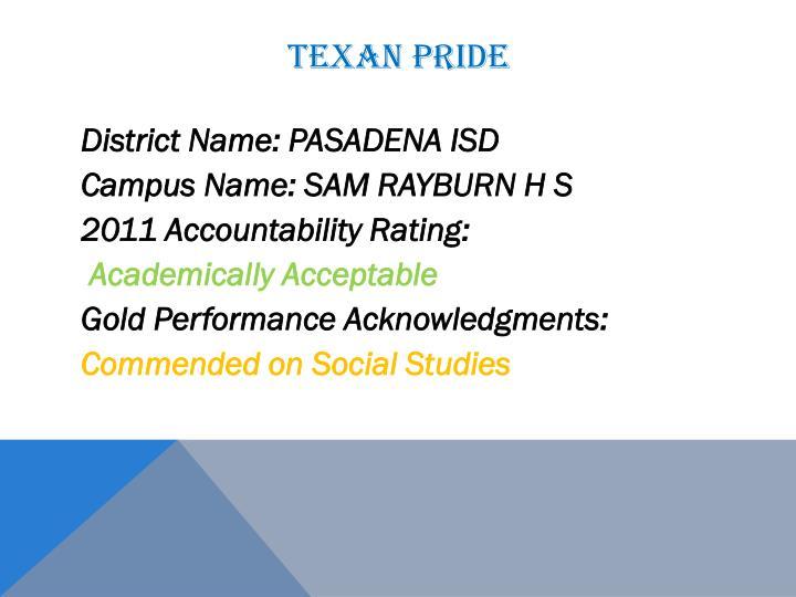 Texan Pride