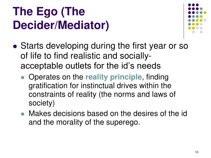 The Ego (The Decider/Mediator)