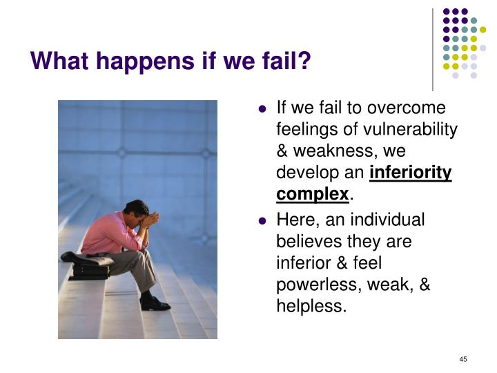 What happens if we fail?
