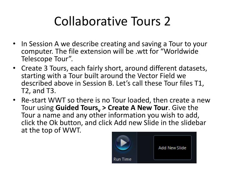 Collaborative Tours 2