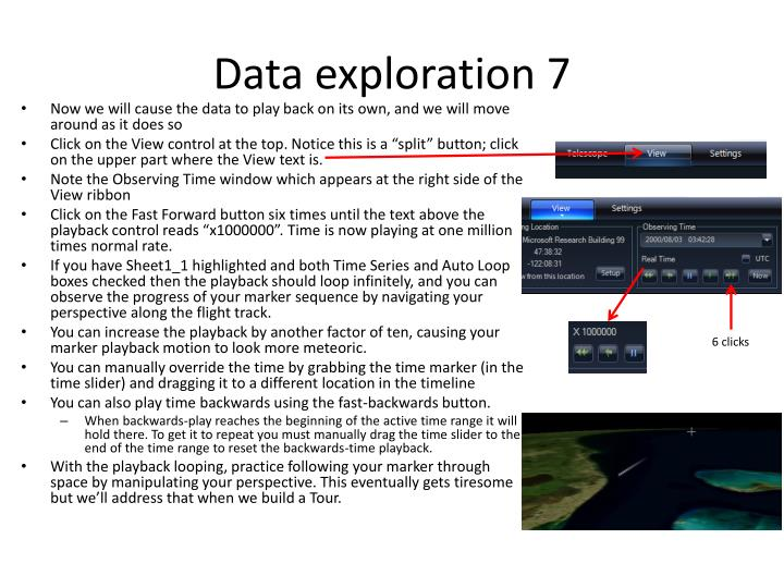 Data exploration 7
