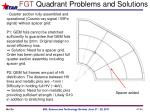 fgt quadrant problems and solutions