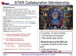 star collaboration membership