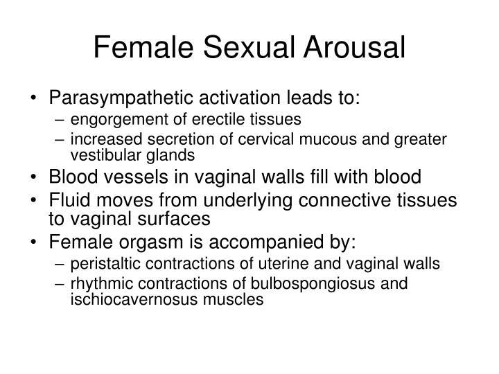 Female Sexual Arousal