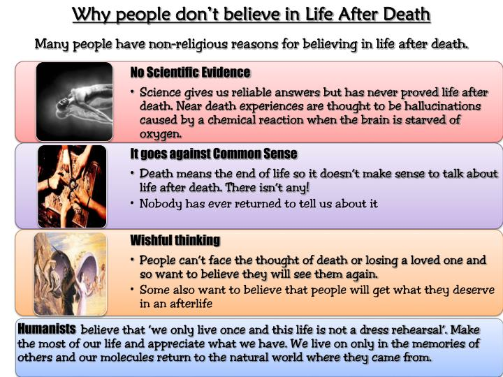 Why people don't believe in Life