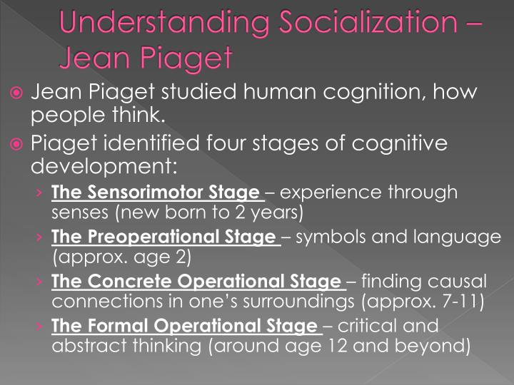 essays on piaget cognitive development What is cognitive development for a fundamental understanding of cognitive development there are two.