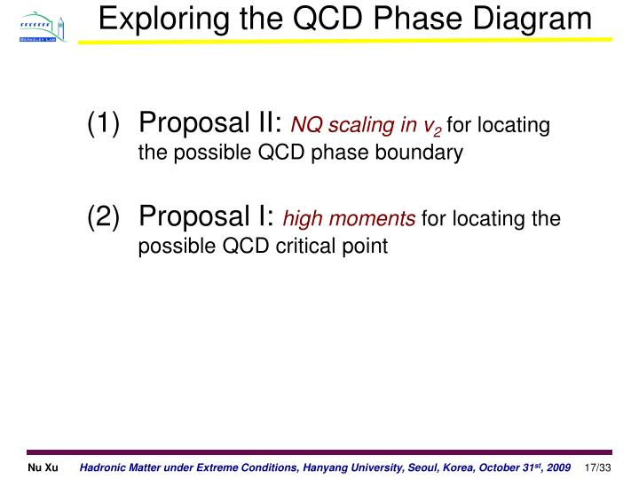 Exploring the QCD Phase